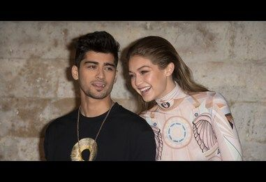 Zayn Malik and Gigi Hadid are sickly sweet in interview with Versace