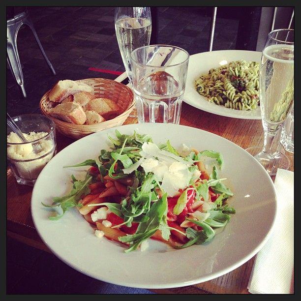 Eating Italian in Paris