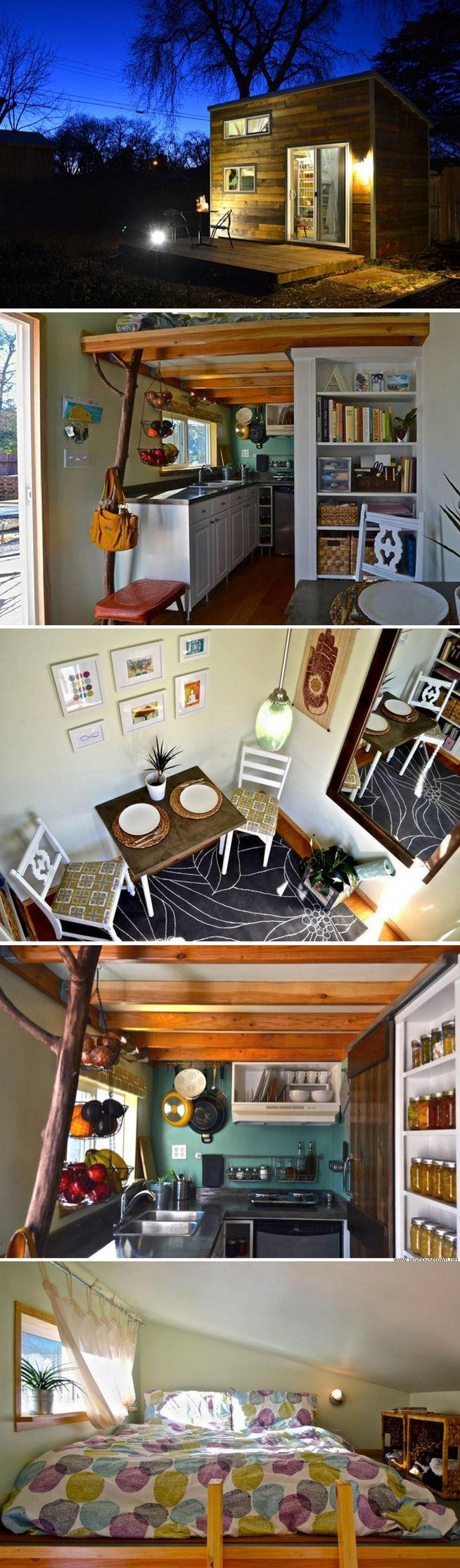 Tiny houses on wheels for sale california - A Handcrafted Tiny House Available For Sale In California That Spans Just 120 Sq Ft Modern Style Tiny Houses Pinterest Tiny Houses
