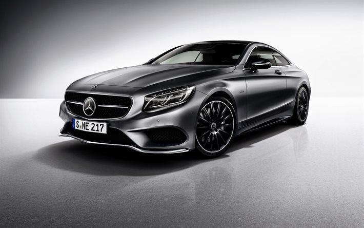 Mercedes-Benz S-Class, 2017, Coupe, C217, silver Mercedes, S-Class coupe
