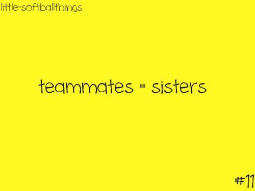 Yep!! Do your HW, hug ur parents love softball. Only Tualatin terror girls will get that