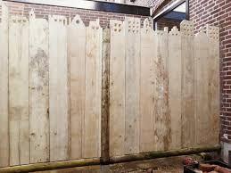 Afbeeldingsresultaat voor steigerhout schutting