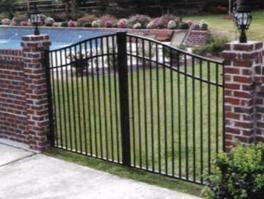 Metal Fence Gate | Quality Driveway Gate | Sturdy Fence Gates