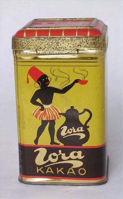 Kakao - Kakao Zora nabízel na krabici černoušek ve fezu
