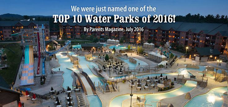 Parents Magazine - 10 Best Water Parks 2016 - Wilderness Waterpark Resort in Wisconsin Dells