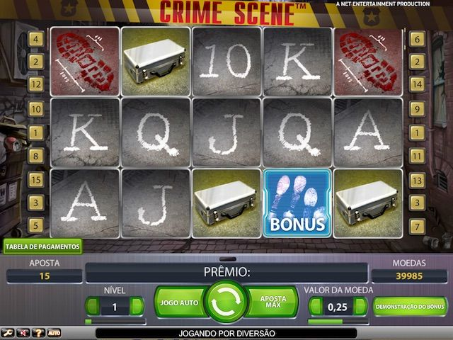Jogar Crime Scene cassino slot em Betmotion