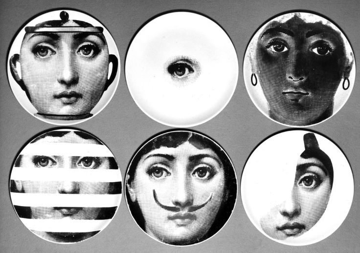 """Digging the archive. Piero Fornasetti, published in 1955 (Domus 313): """"Amusement is the key to his work"""", Fornasetti is """"producer of amusements in the form of unique pieces"""". Foto Farabola"""