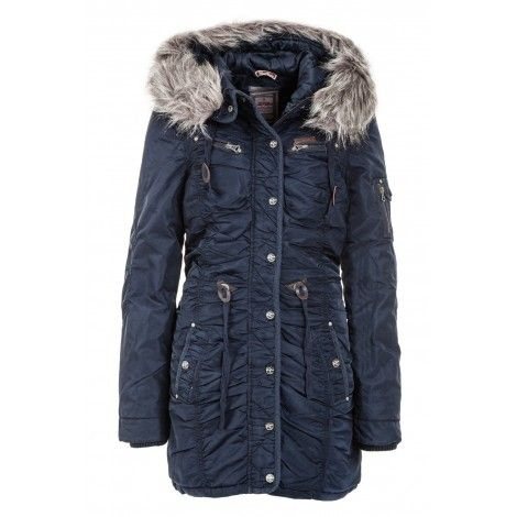 Palton Dama Dreimaster Bleumarin 35131438