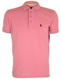 Camisa Camiseta polo rosa sheepfyeld
