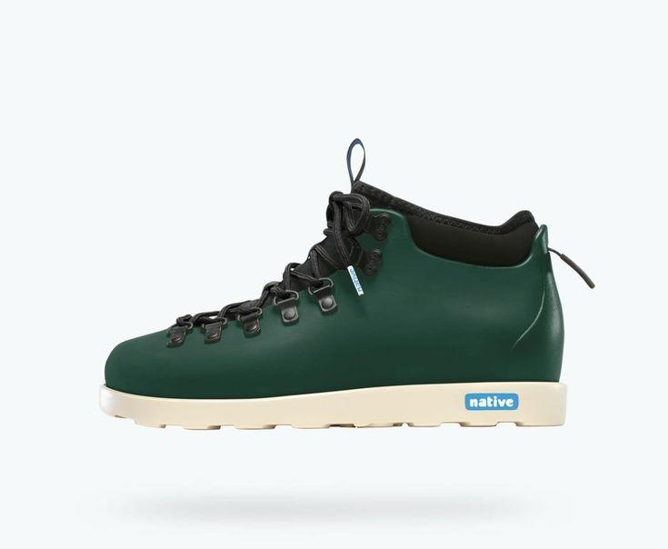 Slowatch - Native Shoes Fitzsimmons - Botanic Green/Stone Whi - $129.00