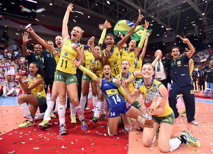 Na casa das rivais, meninas do Brasil batem Turquia e levam Mundial sub-23…