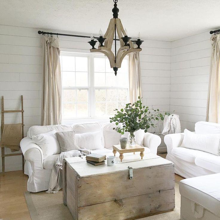 Beautiful farmhouse family room