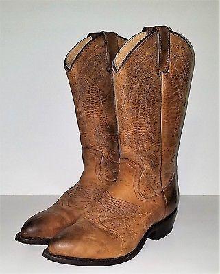 Frye Billy Pull on Womens Western BOOTS Sz 8.5 Leather Cowboy | eBay