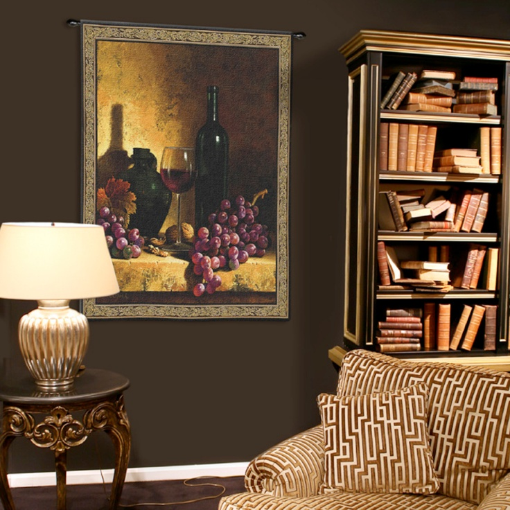Grapes And Wine Are One Of The Most Popular Decor Styles We Have You Covered