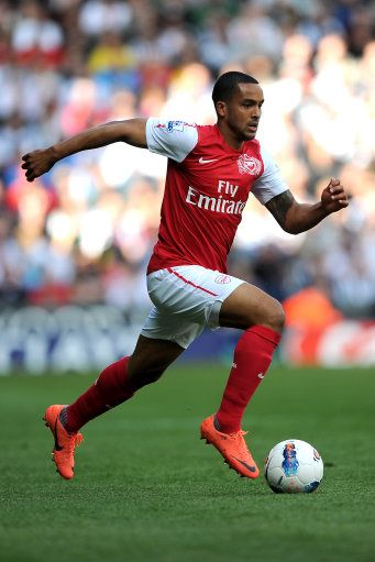 Theo Walcott, Arsenal. One of fastest soccer players in the world. Needs more skill and consistency and can be a star.