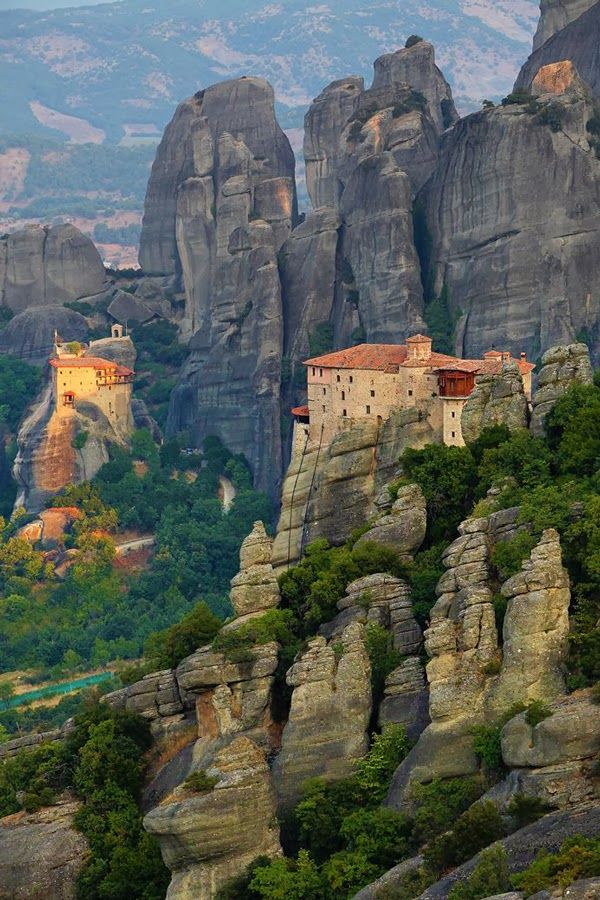 The Holy Orthodox Monastery of Varlaam, Meteora Greece