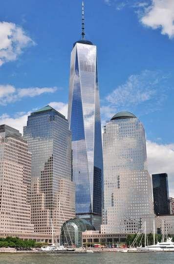 """""""Freedom Tower"""" (Torre de la Libertad), de Nueva York"""
