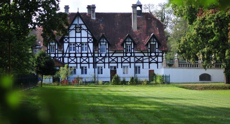 Palace in Iłowa, southwestern Poland. Oriental atmosphere.