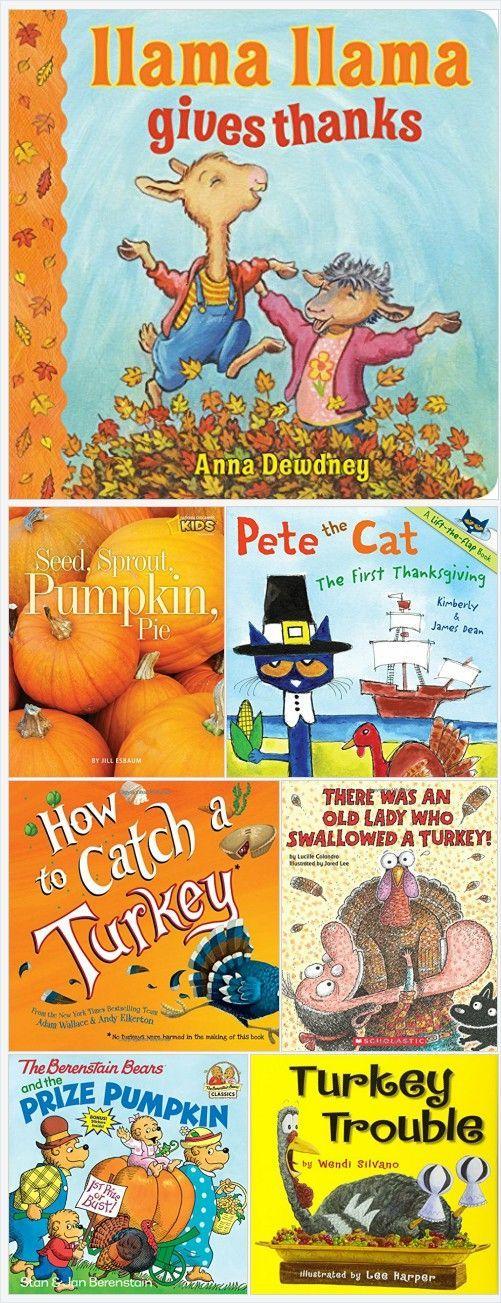 10 Best Thanksgiving Books for Kids