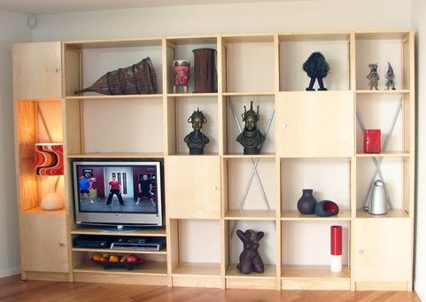 Lundia | Adjustable Shelving > In The Home > Build Your Own Great Wall