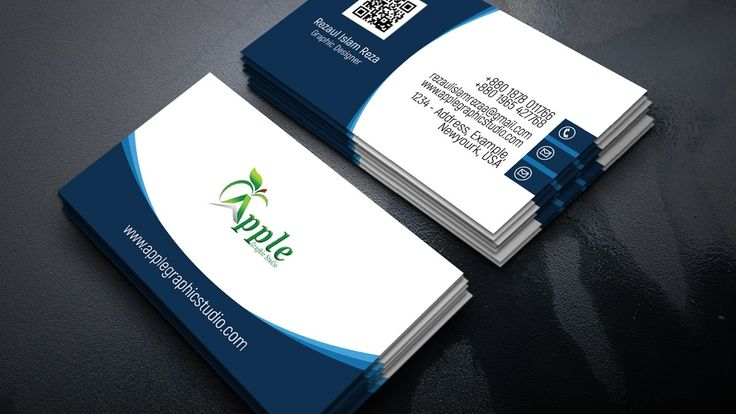 82 best business card images on pinterest business cards carte de professional modern business card design by using photoshop reheart Image collections