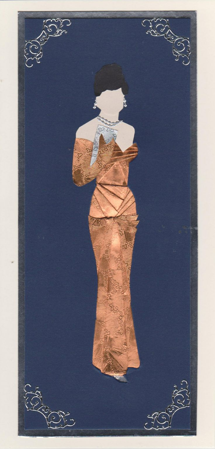 Elegant Lady 1 in gold dress