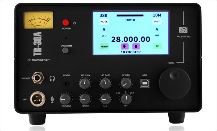 The Palstar TR30A is a new 100 watt transceiver optimized for Ham Band only reception using the best of legacy techniques combined with microprocessor controlled DDS and electronic switching for rock solid performance. Optimum HF sensitivity