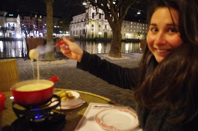 Dining in Lucerne: Swiss Cheese Fondue with a View | The Aussie Flashpacker