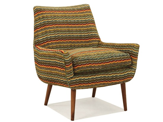 Rad accent chair @ Plummers