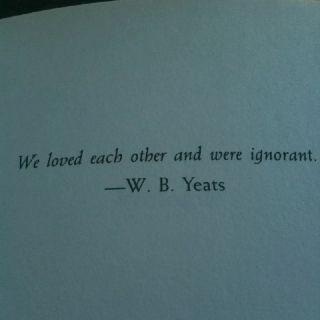 Meer dan 1000 idee?n over Yeats Quotes op Pinterest - William Butler ...