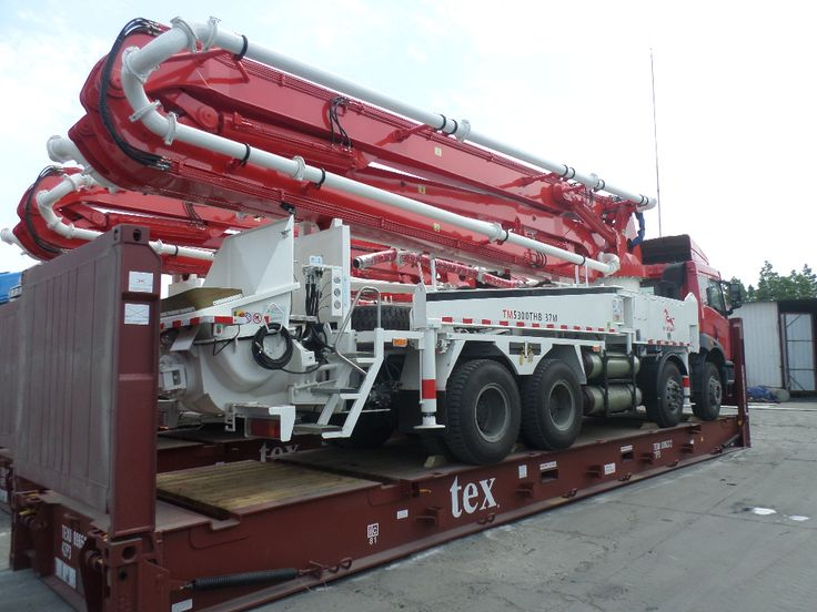 34 best Truck-mounted boom pump images on Pinterest Cement