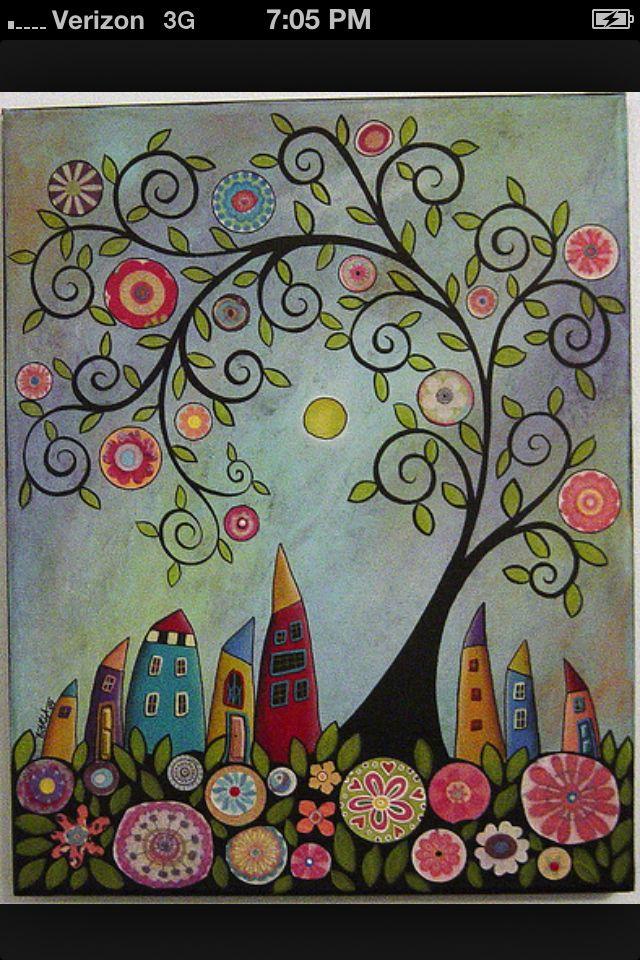 Pintar en canvas