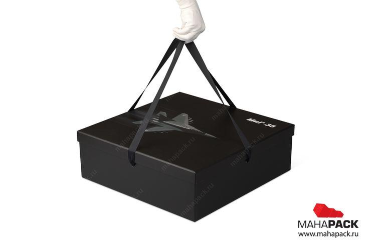 Кашированные коробки для моделей самолёта МИГ-35 под заказ