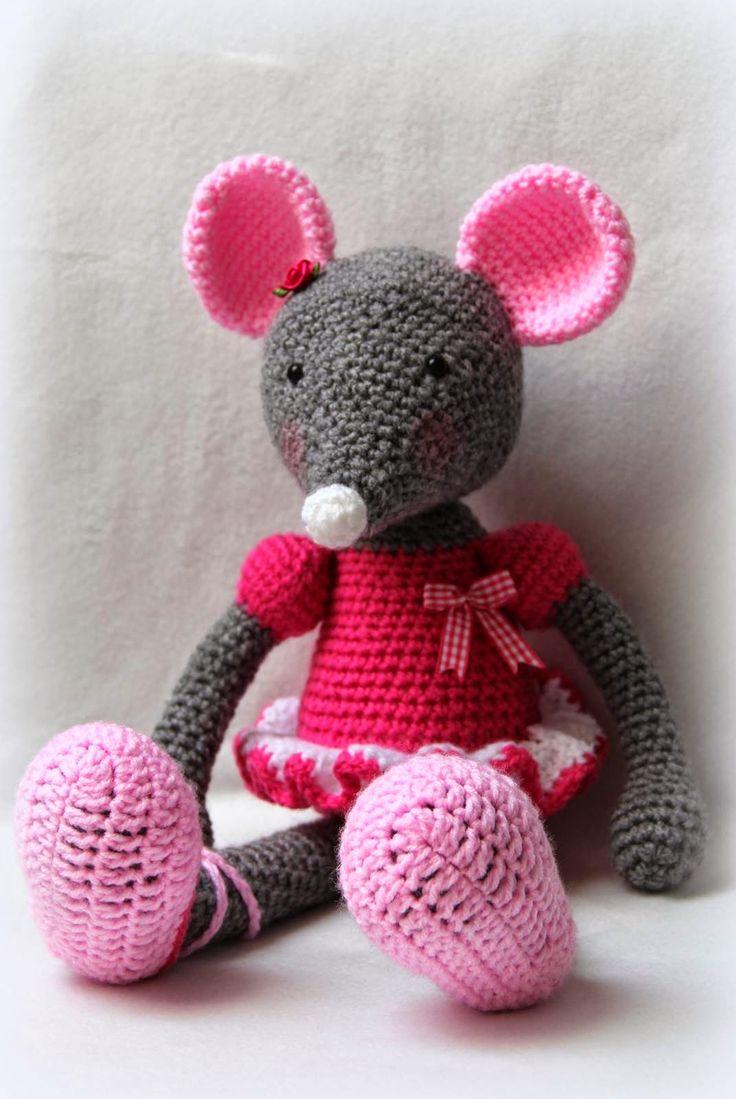 Zaplątane szydełko: Dla Olivii - mojej małej, kochanej myszki