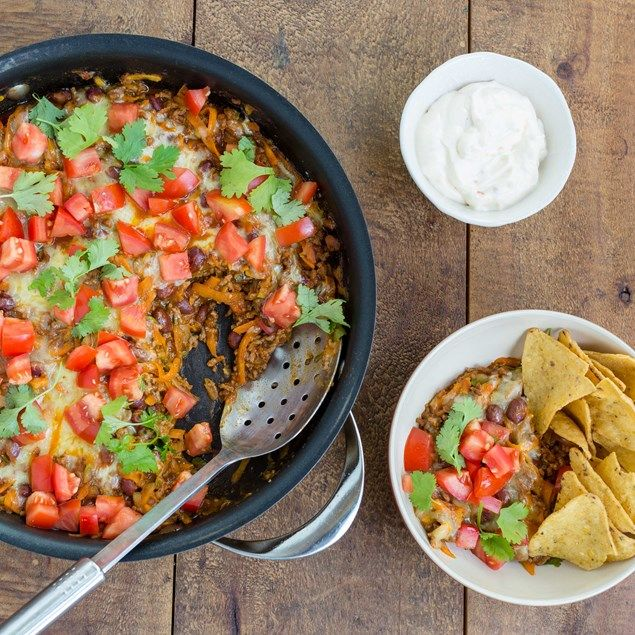 Flavorsome Nachos the whole family will love.