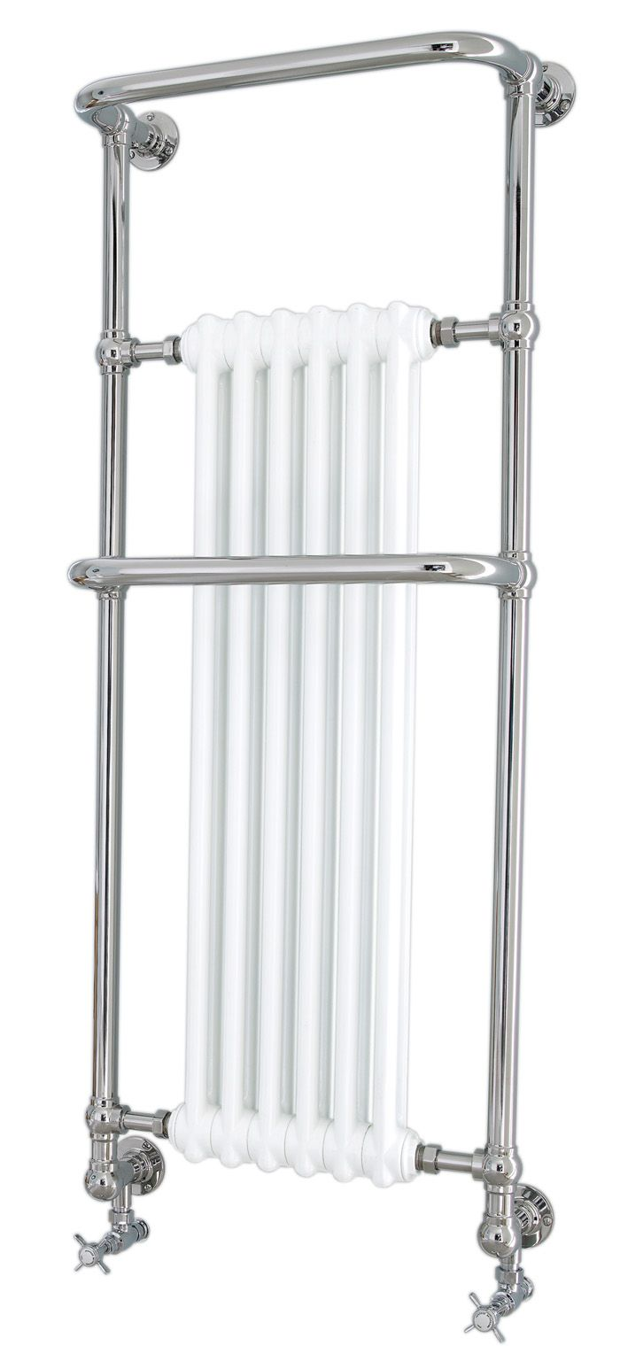 Wall-hung radiator towel warmer;19.7w x 55.6h x 9.25d; 2728 BTUS