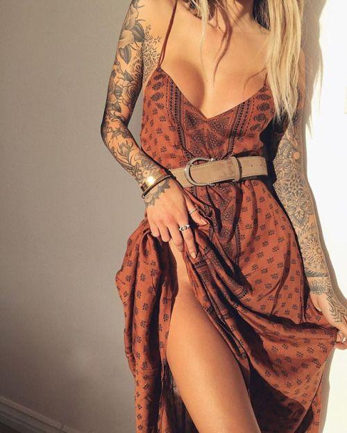 Sleeve tattoos @gypsyone
