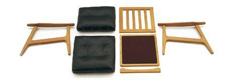 マルニ60のオークフレームチェア | D&DEPARTMENT
