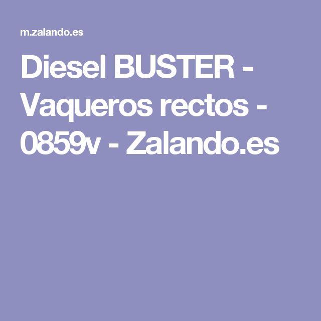 Diesel BUSTER  - Vaqueros rectos - 0859v - Zalando.es