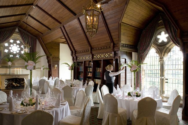 Wedding Venue #Stratford-upon-Avon at Ettington Park Hotel