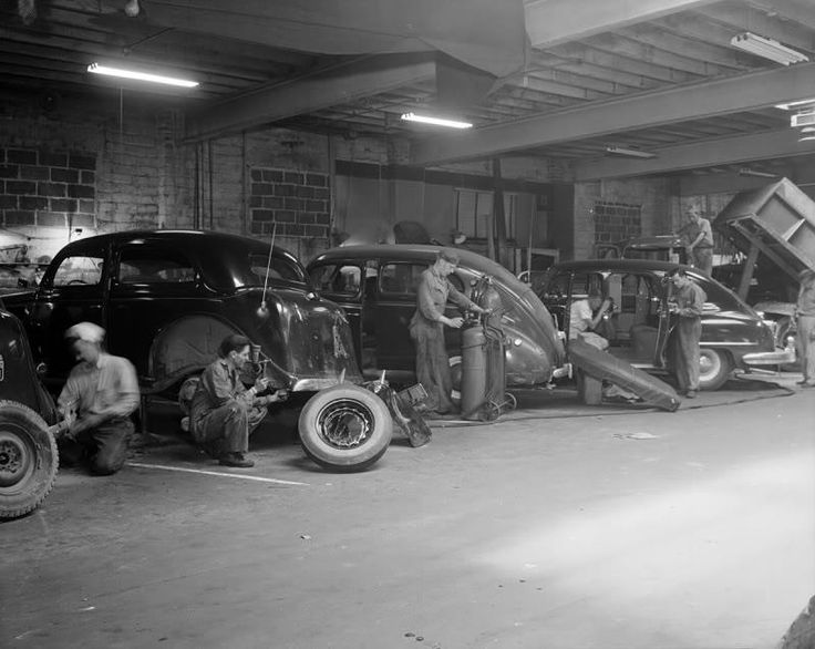 17 best images about vintage auto repair shops on for Garage reparation auto
