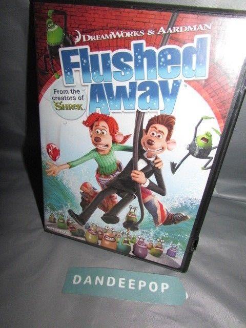 Flushed Away (DVD, 2007, Widescreen Sensormatic) #flushedaway #widescreen #dvd #movie #dandeepop Find me at dandeepop.com