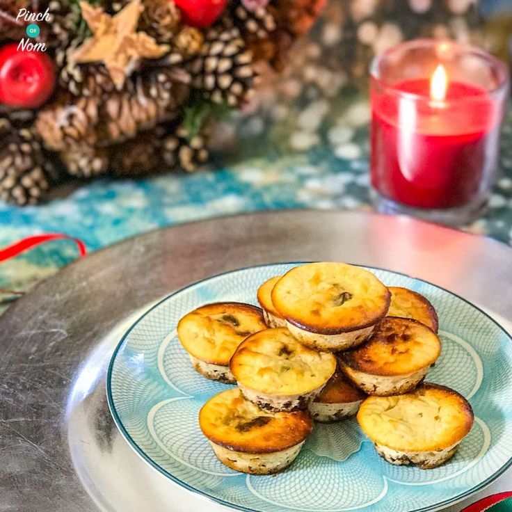 Low Syn Mini Christmas Cheesecakes | Slimming World
