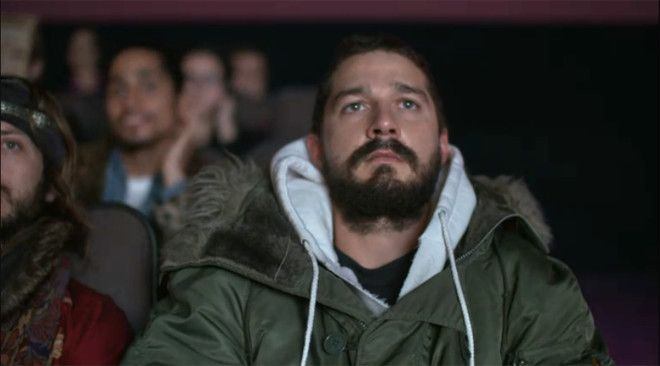 You Can Watch Shia LaBeouf Watching All His Movies Right Now