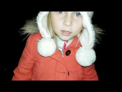 Небесный фонарик в снег Two Sisters - YouTube
