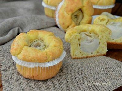muffins salati cuor di carciofo