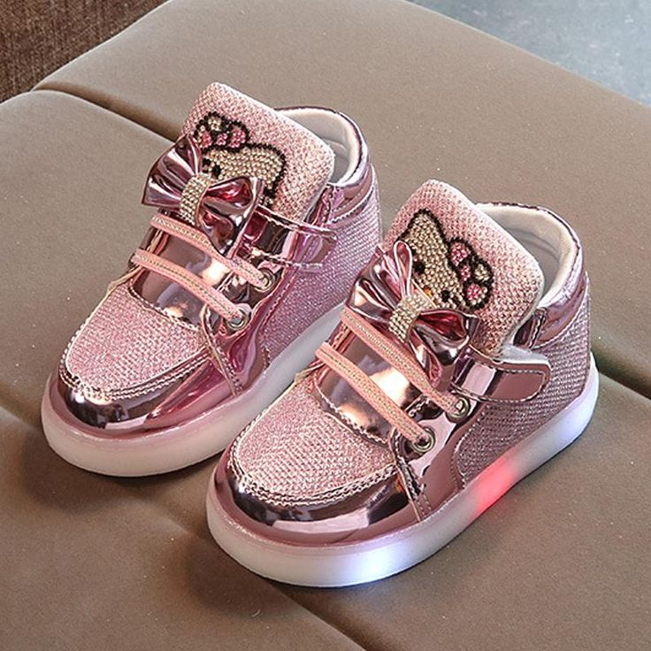 Kids Shoes  Fashion Children Shoes With Light Luminous Glowing Sneakers Baby Toddler Girls
