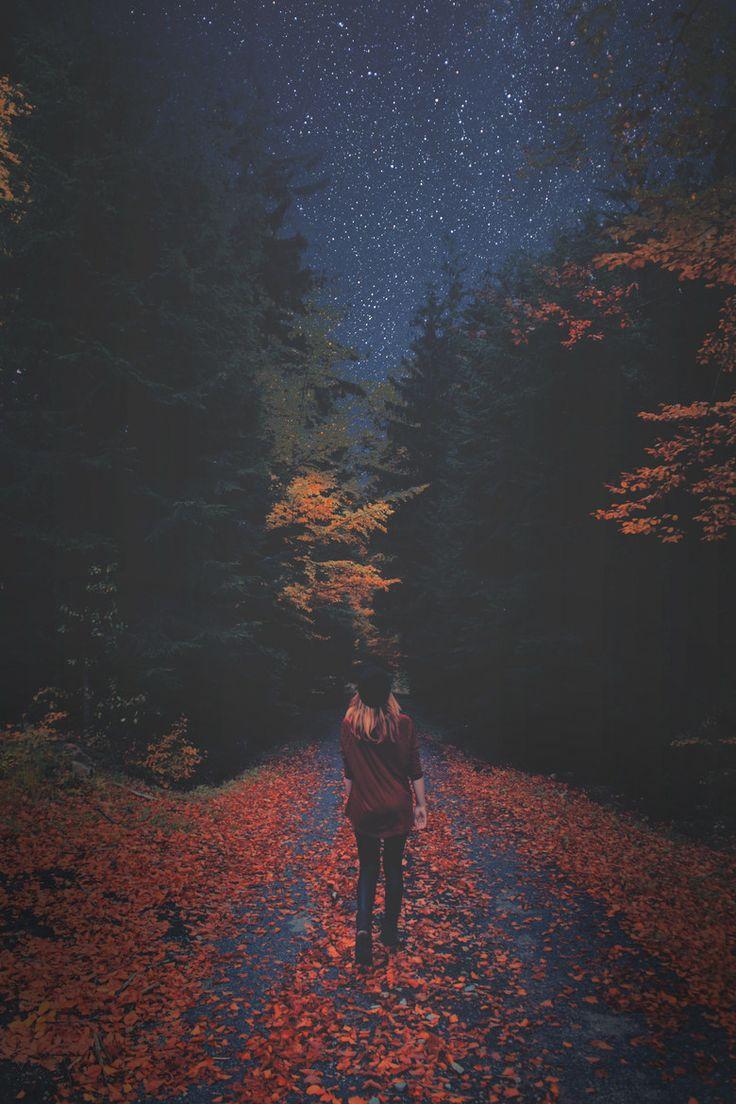 Walking under the stars