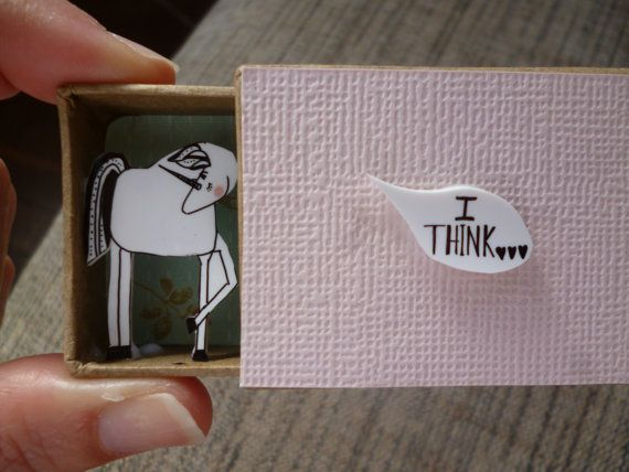 I+Think...You're+Lovely+Unicorn+diorama+by+ShyLilyandDakota