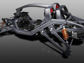 this is a idea who its main goal is to bring ATV vehicles a more aesthethic appearance, improving weight and stability.